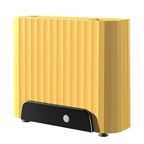 ZUOYI Portacuchillas Esterilizador Portacuchillos Inteligente para el Hogar Tabla de Cortar Estante Palillos Utensilios Máquina de Secado y Desinfección