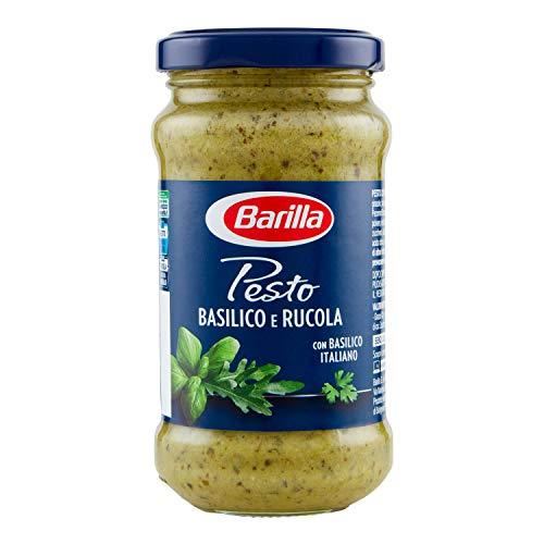 Barilla Pesto alle Verdure con Basilico e Rucola, Sugo Pronto Gustoso e Profumato, 190 g