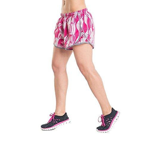 Nessi Short pour Femme DSL Short Pantalon de Course Fitness Pantalon Respirant Rose L - 21 Rosa