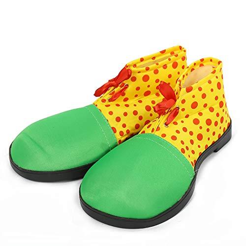 Fascigirl Zapatos De Payaso De Halloween Zapatos De Disfraces Payaso Accesorios De Vestuario Zapatos De Cospla