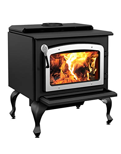 Why Should You Buy Stove Builder International Escape 1800 on Legs with Nickel Door Wood Stove