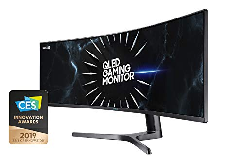 Samsung Curved Gaming Monitor 1440p, 120 Hz 49 inch zwart