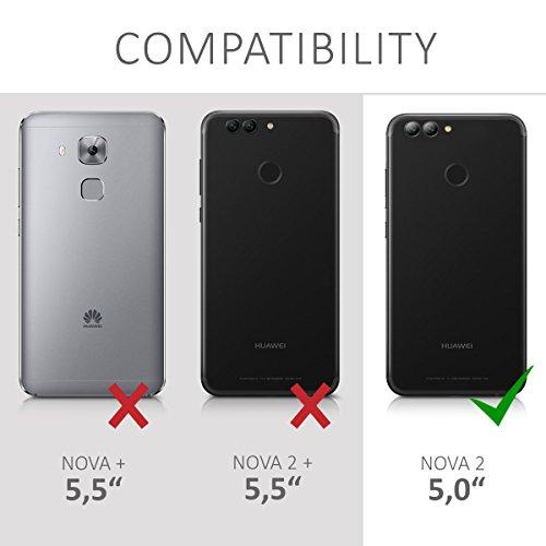 kwmobile Huawei Nova 2 Hülle - Handyhülle für Huawei Nova 2 - Handy Case in Transparent - 6