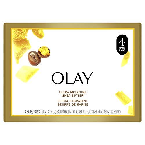 Olay Ultra Moisture Beauty Bar Soap with Shea Butter - 3 oz - 4 ct by Olay