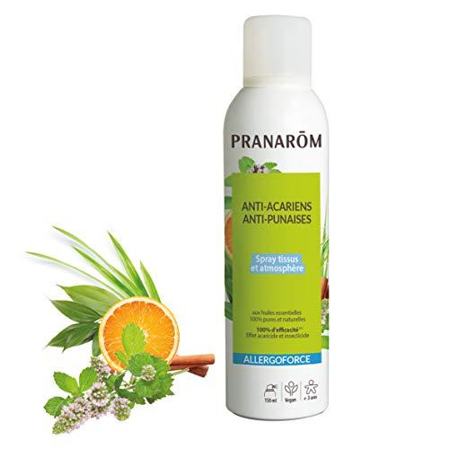 Pranarôm | Allergoforce | Spray Anti-Acariens, Anti-Punaises Et Anti-Tiques | Effet Désinfectant Acaricide en 8H | 150 ml