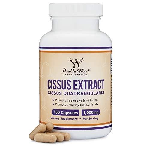 Cissus Quadrangularis Super Extract , 150 Capsules, Made in The USA, Dietary Supplement for Joint and Tendon Pain, 1000mg Serving Size