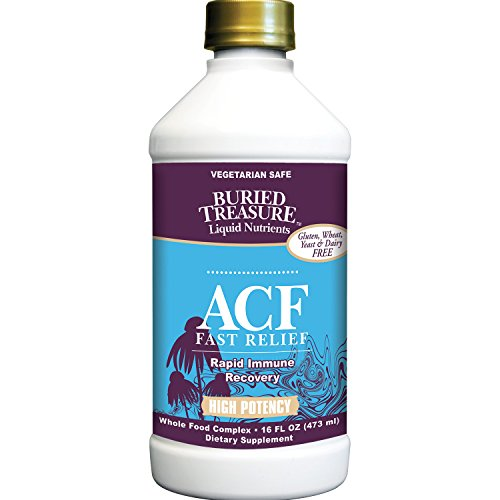:Buried Treasure ACF Fast Relief Rapid Immune Recovery, 16 Fl Oz (Pack of 2)