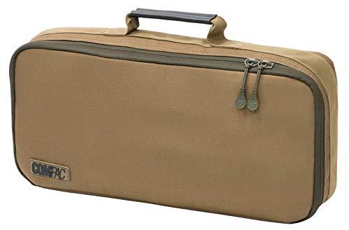 Korda Carp Fishing Luggage Compac Small Buzz Bar Bag Light Fully Padded Large Internal Pocket Heavy Duty Zips 25cm x 17cm x 8cm