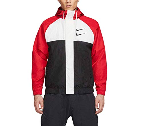 Nike Herren CJ4888 Anorak, University Red/White/Black, XS