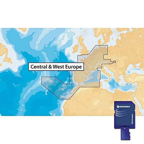 Navionics MicroSD Navionics Plus 46XG Midden-en West-Europa