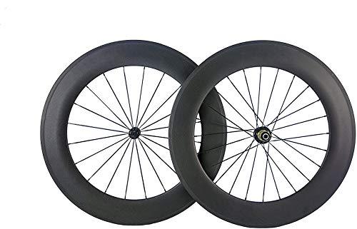 Bike 88mm Radsatz Drahtreifen 700c Carbon Cyclocross Felge für Rennrad 23mm Breite