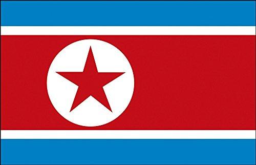 Décoration Drapeau – Corée du Nord – Taille : env. 150 x 90 cm – 80122 – déco Pays De Drapeau