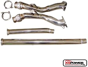 "3"" to 2.5"" Catless Downpipe for 00-01 Audi B5 S4 2.7L V6 Bi-Turbo K04/RS6 Flange"