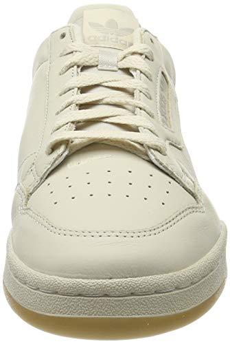 adidas Continental 80, Zapatillas de Gimnasia Hombre, Marrón (Clear Brown/Scarlet/Ecru Tint S18 Clear Brown/Scarlet/Ecru Tint S18), 39 EU