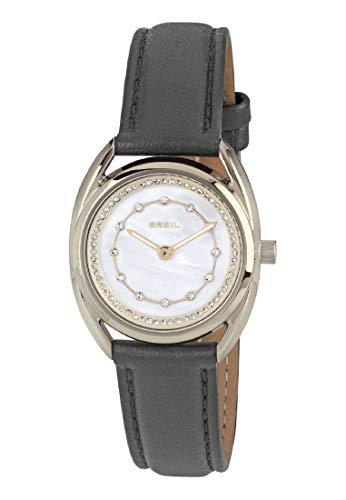 Reloj Breil colección Petit Only Time Movimiento - 2h Cuarzo y Correa de Piel de Becerro para Mujer ES One Size