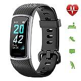 Letsfit Fitness Armband, Schrittzähler Uhr, Wasserdicht IP68 Aktivitätstracker mit Pulsmesser,...