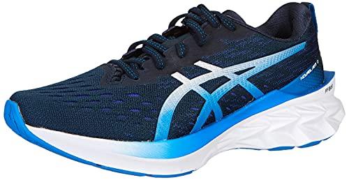 ASICS Novablast 2, Zapatillas de Running Hombre, French Blue Pure Silver, 43.5 EU