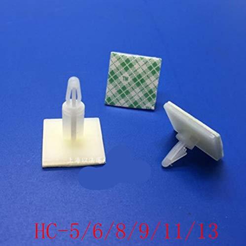 HC-5/6/8/9/11/13 Nylon Plastic (3M LIJM) stick op PCB Sp Afstandhouder 3mm Gatensteun Vergrendeling Snap-In Palen vaste clips Lijm, HC9