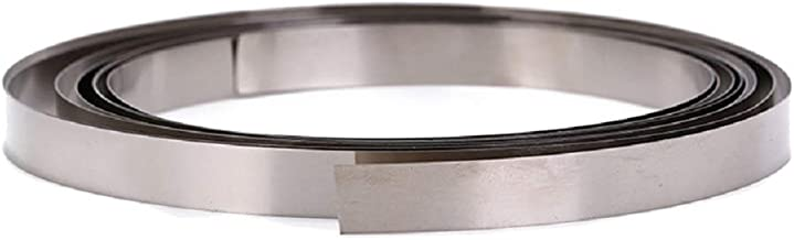 angwang Nickel Plated Steel Strip Sheet1m 2//3//4P Pure Nickel Plated Steel Strip Sheet 0.15mm Ultra Thin Thickness for 18650 Lithium Battery Pack Spot Welding 2#
