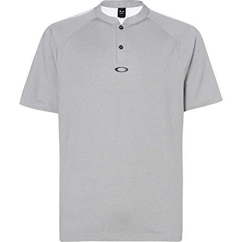 Oakley Men's Ergonomic Evolution Shirts,X-Large,Granite Heather