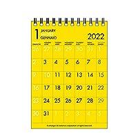エトランジェディコスタリカ 2022年 カレンダー 卓上 A6 カラーアソート 0102-CLT-B-07