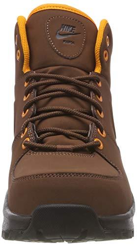 Nike Manoa Leather, Botas de Senderismo Hombre, Marrón (Fauna Brown/Fauna Brown/Fauna Brown/Orange Peel/Velvet Brown/Black 203), 40 EU