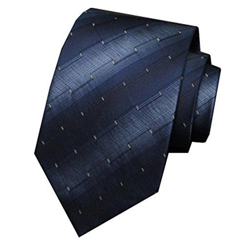ZSRHH-Neckchiefs Halstücher Dunkelblaue Muster Herren Business Formale Krawatte Seide Hochzeit Krawatte