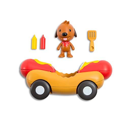 SAGO mini 6038486 Juguete Educativo Fahrzeuge: Harvey\'s Veggie Dog Car, bunt