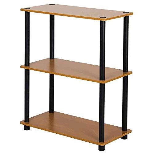 Daily Equipment Display Rack Free Standing Shelf for Living Room Bookshelf Storage Shelf Bookcase Bookshelf Small Bookshelf 2 Tier Industrial Low Bookcase Rustic Display Shelf for Living Room Bedro