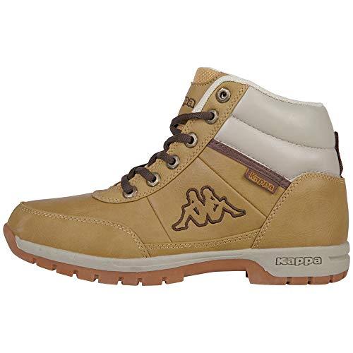 Kappa BRIGHT wysokie buty sportowe dla dzieci, uniseks, beżowy - beżowy 4141 beżowy - 39 eu