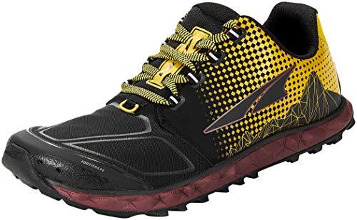 ALTRA Mens AL0A4VQB Superior 4.5 Trail Running Shoe, Yellow/Port - 8 M US