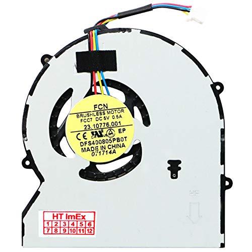 Lüfter Kühler Fan Cooler kompatibel für HP Probook 470 G1, Probook 430 G1