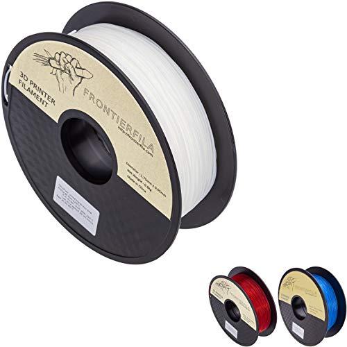 Flex 0,8 kg di 1,75 mm Bianco - Filamento stampante 3D - FrontierFila