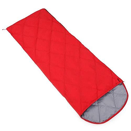 Durable, perméable à l'air, imperméable enveloppe sac de couchage léger saison robe rectangulaire 4 matelas de couchage sac à dos escalade en plein air intérieur, violet, 450 g, la taille Nom: 400 gra