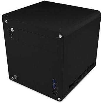 アビー abee PCケース acubic CS01 キューブ型 Mini-ITXケース シルキーブラック塗装 ACE-CS01-SBK