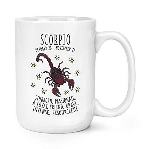 Scorpion Horoscope 15oz Mighty TASSE MUG