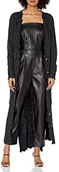 Kendall + Kylie Women's Duster Cardigan with Distressed Edges