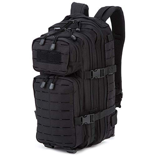 AB Sac à Dos Robuste américain Assault I Laser 28 litres (Petite/Noire)