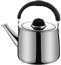 FACAZ Czajnik z gwizdkiem, czajnik do herbaty do kuchenki ze stali nierdzewnej, ergonomiczny uchwyt odporny na ciepło, dom...