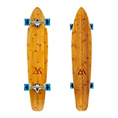 GREAT FOR BEGINNERS The Kicktail Cruiser is a great option for beginners and pros alike! The deck is nice and stable without much flexibility making it easy and safe to ride. The wheels are nice and soft for extra grip while turning and a super smoot...