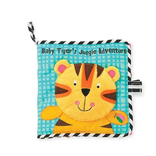 Livre d'aventure dans la jungle de Manhattan Toy Tiger