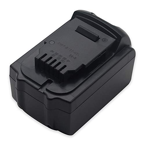 BTMKS Replacement 5Ah Battery for Dewalt DCB180 DCB181 DCB181-XJ DCB182 DCB183 DCB184 DCB185  DCB200 DCD740 DCD785 DCD985 DCF880 DCF889HL2 DCG412 DCH213 DCS393 18v Cordless Power Drill Tool