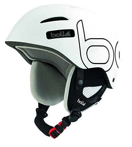 Bollé Skihelm B-Style Soft, White/Black, 58-61 cm