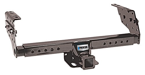 Reese Towpower 37042 Class III Multi-Fit Receiver Hitch with 2' Receiver opening, Black