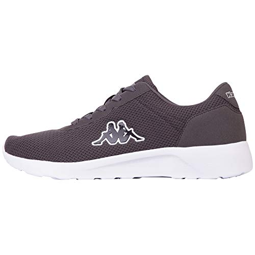 Kappa Unisex TUNES Sneaker, Grau (Grey 1616), 48 EU