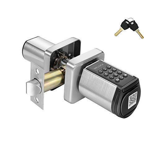 WE.LOCK Keyless Entry Door Lock, Digital Keypad Deadbolt Lock, Smart Locks Door Knob, Easy to Install and Program,Auto Lock Door Locks with keypads for Home,Office,Hotel,Bedroom Door