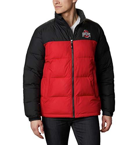 chouyatou Men's Mid-Length Single Breasted Wool Blend Top Coat (Large, Black)