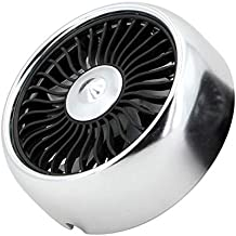 SHYPYG Electric Car Fan 3 Speed Adjustment USB Dual Head Car Auto Cooling Air Circulator Fan Air Conditioner with Colorful...