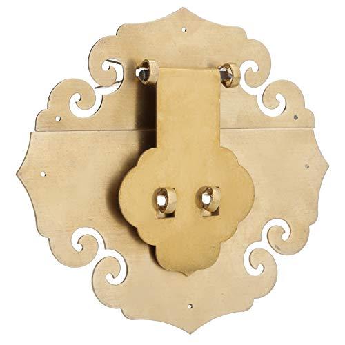 Caja Hebilla Cerradura Antióxido Cerradura Latón Antiguo, para Cajas de Madera Antiguas