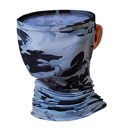 OHHCO Fotografie Waschlappen, Außenreit EIS Seide Maske, Sonnenschutz Schal, Klettern, Kappen, neutral, Multifunktions,Camouflage lugs